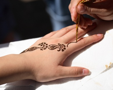 Henna for the last 18+ years at Gypsy Moon.